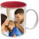 Cana personalizata, culoare rosie, ceramica