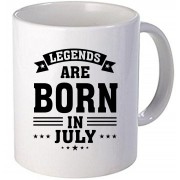 "Cana personalizata ""Legends are born in July"""