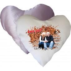 Perna inima alb-roz