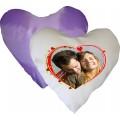 Perna inima alb-mov
